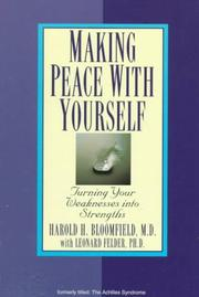 Cover of: Making peace with yourself