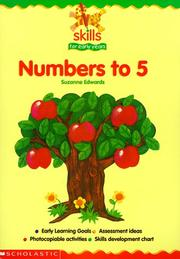 Cover of: Numbers 1 to 5 (Skills for Early Years)