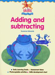 Cover of: Adding and Subtracting (Skills for Early Years S.)