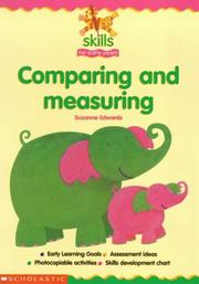 Cover of: Comparing and Measuring (Skills for Early Years)
