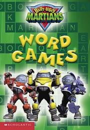 Cover of: Butt-ugly Martians Word Games (Butt Ugly Martians)