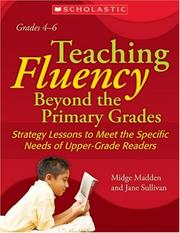 Cover of: Teaching Fluency Beyond the Primary Grades