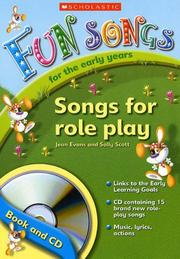 Cover of: Songs for Role Play (Fun Songs for Early Years)