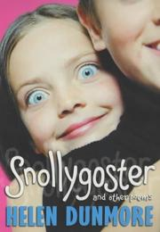 Cover of: Snollygoster and Other Poems
