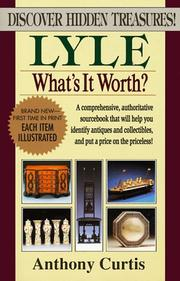 Cover of: Lyle what's it worth?