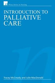 Cover of: Introduction to Palliative Care
