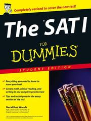 Cover of: The SAT I FOR DUMMIES Student Edition