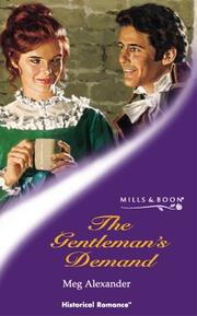 Cover of: The Gentleman's Demand (Historical Romance)