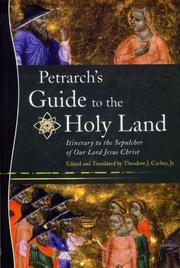 Cover of: Petrarch's Guide to the Holy Land