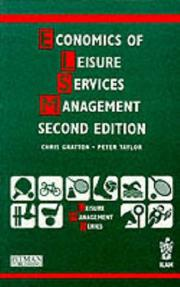 Cover of: Economics of Leisure Services Management (LMS)