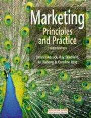 Cover of: Marketing Principles and Practice