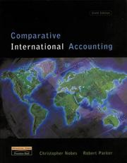 Cover of: Comparative International Accounting (6th Edition)