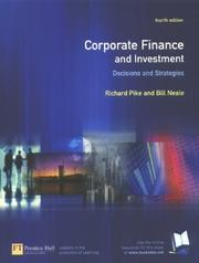 Cover of: Corporate Finance & Investment