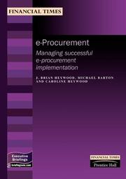 Cover of: E-procurement (Management Briefings: Finance)