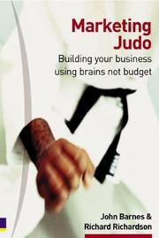 Cover of: Marketing Judo