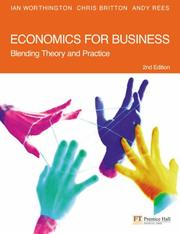 Cover of: Economics for Business