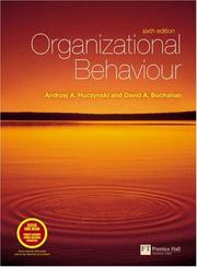 Cover of: Organizational Behaviour