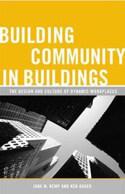 Cover of: Building Community in Buildings