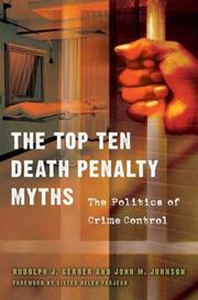 Cover of: The Top Ten Death Penalty Myths