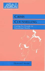 Cover of: Crisis Counselling (New Library of Pastoral Care)