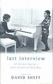 Cover of: The Last Interview