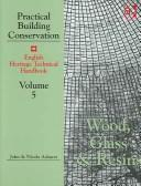 Cover of: Wood, Glass and Resins