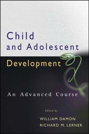 Cover of: Child and Adolescent Development