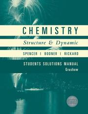 Cover of: Chemistry, Student Solutions Manual