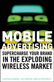 Cover of: Mobile Advertising