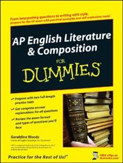 Cover of: AP English literature & composition for dummies