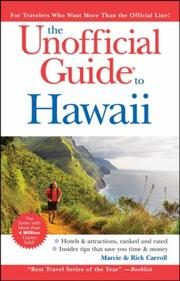 Cover of: The Unofficial Guide to Hawaii (Unofficial Guides)