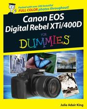 Cover of: Canon EOS Digital Rebel XTi/400D For Dummies (For Dummies (Sports & Hobbies))