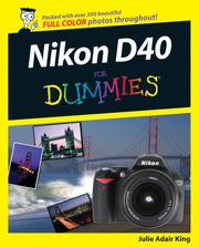 Cover of: Nikon D40/D40x For Dummies (For Dummies (Sports & Hobbies))
