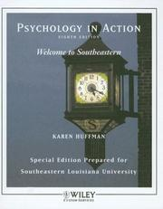 Cover of: (WCS)Psychology in Action, Eighth  Edition for Southeastern Louisiana University