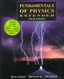 Cover of: Fundamentals of Physics Extended