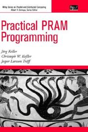 Cover of: Practical PRAM Programming