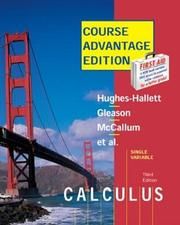 Cover of: Hughes-Hallett Calculus Update