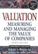 Cover of: Valuation, Textbook and Workbook