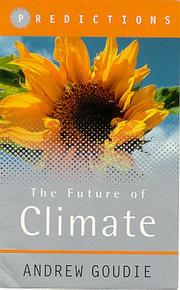 Cover of: The Future of Climate