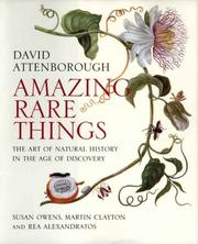 Cover of: Amazing Rare Things