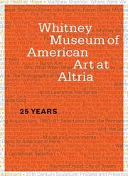 Cover of: Whitney Museum of American Art at Altria