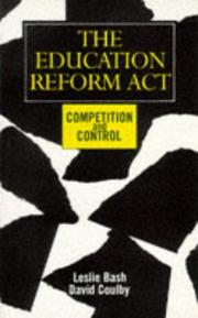 Cover of: The Education Reform Act