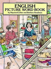 Cover of: English Picture Word Book