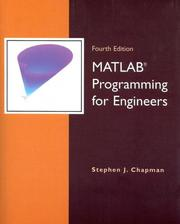Cover of: MATLAB Programming for Engineers