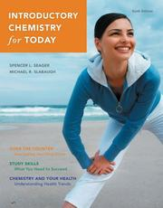 Cover of: Introductory Chemistry for Today