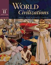 Cover of: World Civilizations: Volume II