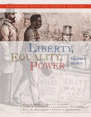 Cover of: Liberty, Equality, Power: Volume I