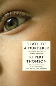 Cover of: Death of a Murderer (Vintage International)