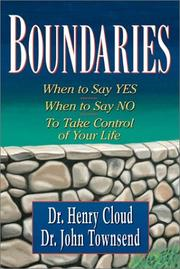 Cover of: Boundaries