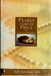 Cover of: Pearls of Great Price: 366 Daily Devotional Readings